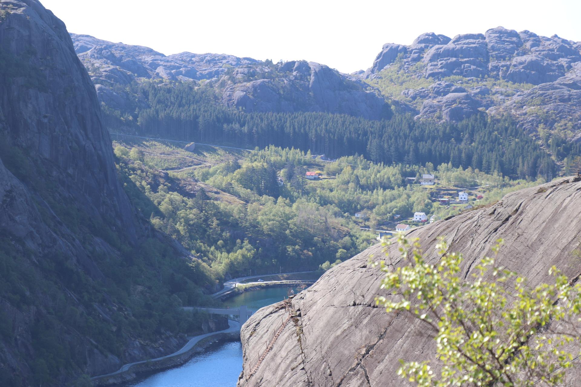 Zwischenstopp am Jøssingfjord vor Sokndal